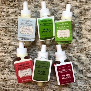 Bath & Body Works wallflower fragrance refills (6)